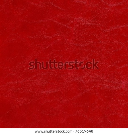 background of red genuine leather