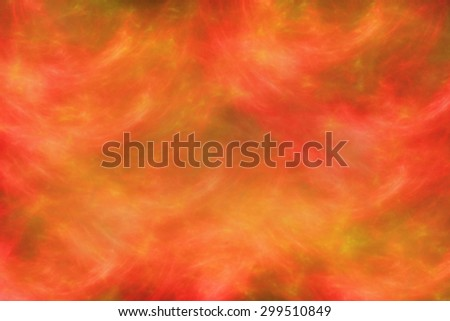 Background of red, yellow and orange fire on black base - stock photo