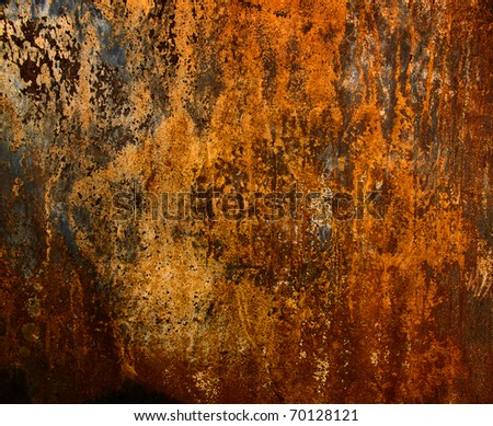 Background of rusty - stock photo