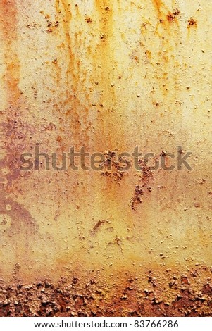 Background of rusty  metal - stock photo