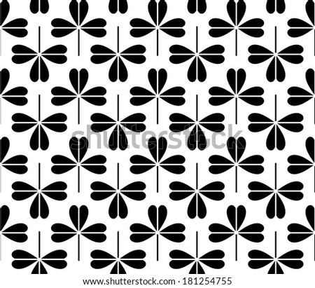 background of seamless black-and-white geometric pattern