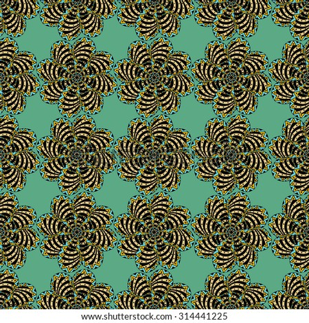 Background of seamless colored pattern.