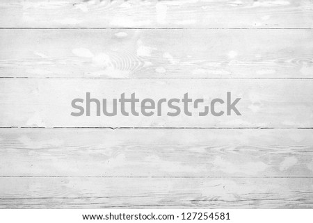 Background of shabby painted and stained wooden plank - stock photo
