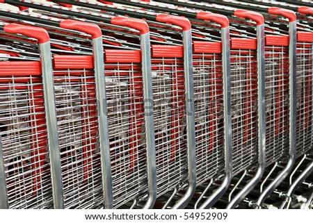 background of shopping - stock photo