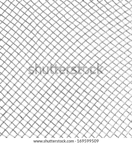 Background of steel mesh