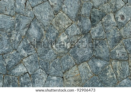 Background of stone wall texture - stock photo
