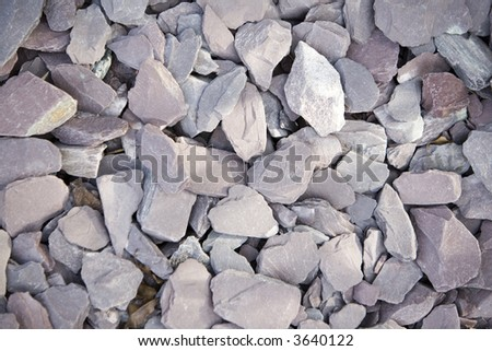 Background of stones on the ground