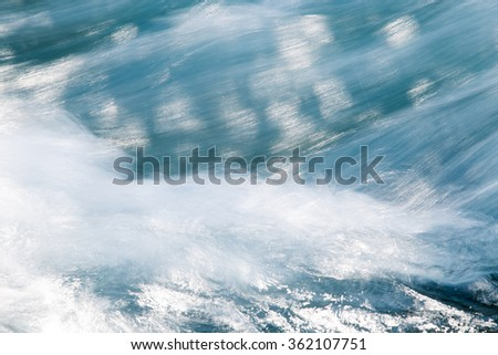 background of stormy water