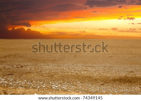 Background of the land - stock photo