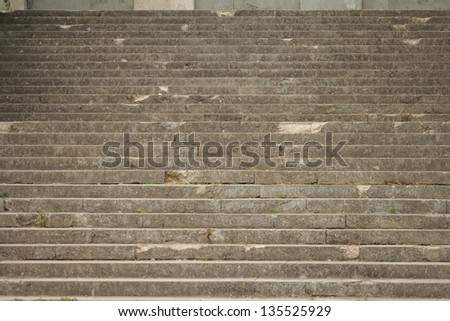 Background of the old stairs - stock photo