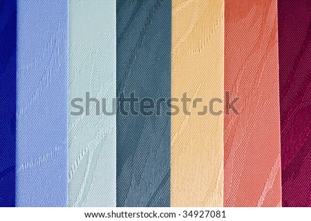 background of the sample textile vertical blinds - stock photo