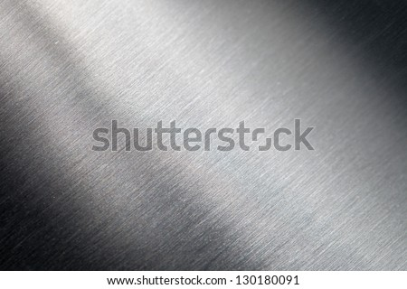 Background of the scratched metal surface - stock photo