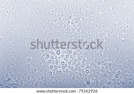 Background of the water dew - stock photo