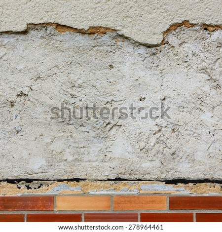 Background of wall pattern texture. Great for graffiti inscriptions - stock photo