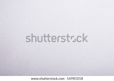 Background of white textured paper - stock photo