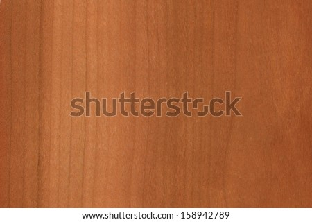 background of wood grain from Wild Cherry or European Cherry, probably Prunus avium, found in Europe and Asia  - stock photo