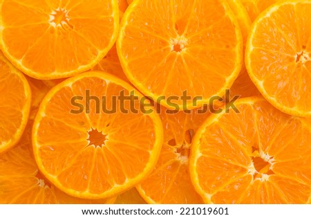 background Orange fruit  - stock photo