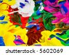 background panting texture - stock photo