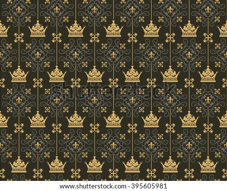 background pattern,baroque,baroque wallpaper,baroque art,baroque design,baroque pattern,baroque background,baroque ornaments,baroque illustration,dark,wallpaper baroque,baroque crown,black background - stock photo