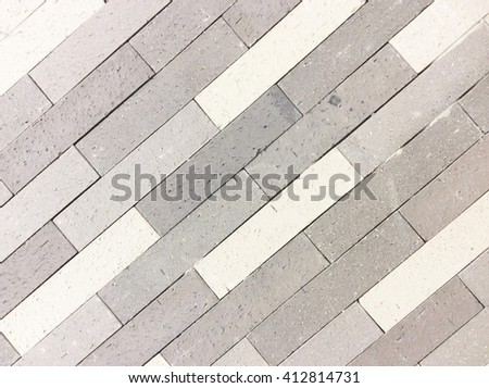 Background pattern white brick wall