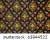 background Patterns of fabric - stock photo
