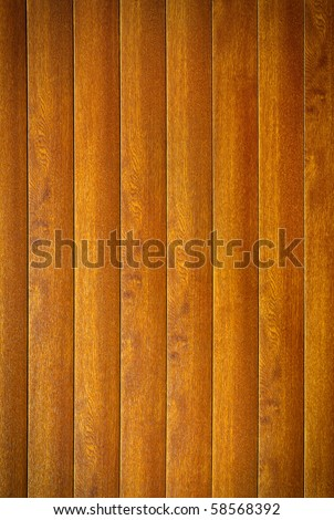 Background photo of clean wooden planks wall - stock photo