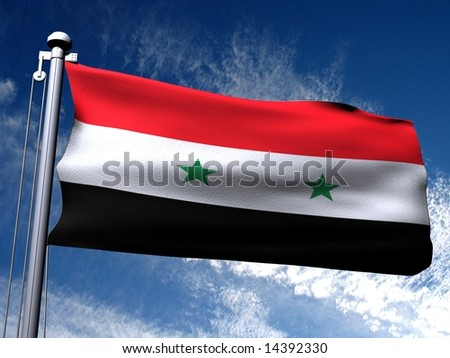 Background picture of country flag. - stock photo