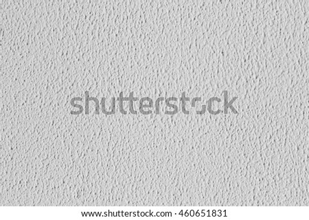 background plaster for the interior wall