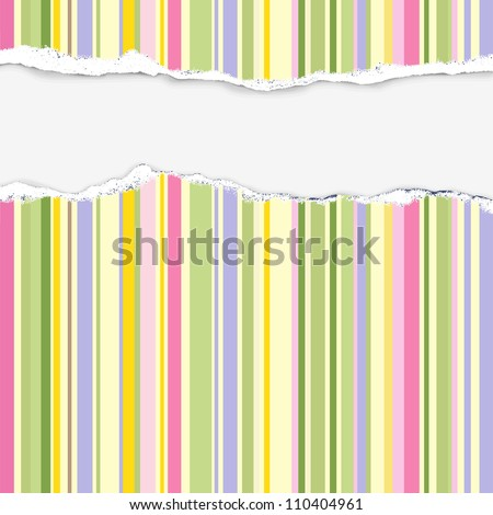 background - rainbow stripes (with place for text)