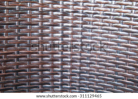 Background rattan crafts patterns - stock photo