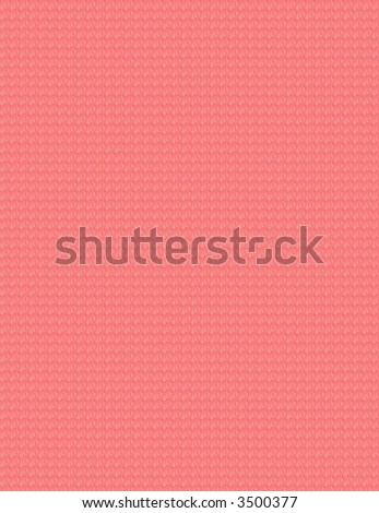 Background - Red Fabric Pattern - stock photo