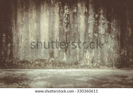background rough old cement plaster wall , vintage - stock photo