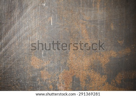 Background rusty steel plate. - stock photo