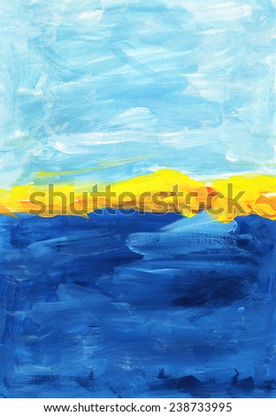 background Seashore