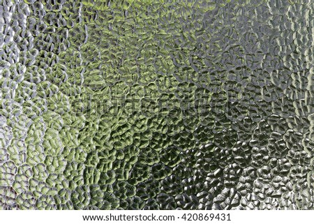 background sheet of glass texture - stock photo