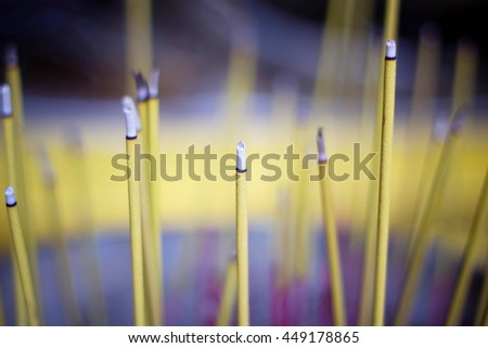 background - sticks aromatherapy