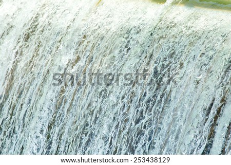 background stormy water - stock photo