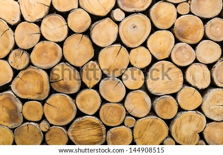 Background style picture of many wood  that is section