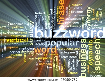 Background text pattern concept wordcloud illustration of buzzword glowing light - stock photo