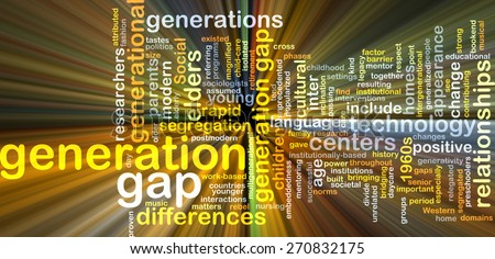 Generation Gap Photos of Generation Gap Glowing