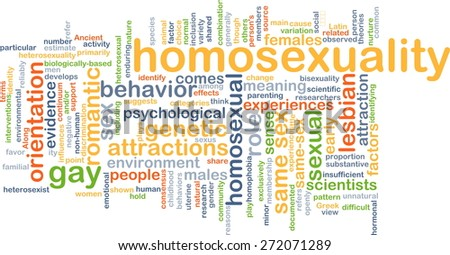 Background text pattern concept wordcloud illustration of homosexuality gay