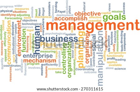 Background text pattern concept wordcloud illustration of management