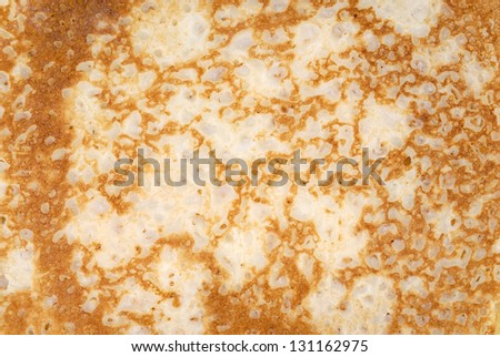 Background texture from a pancake.