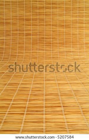 background texture, grass mat - stock photo