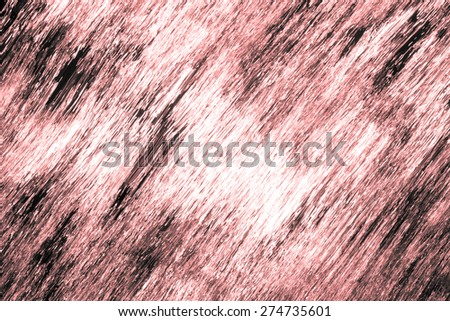 Background texture made by sun reflecting on a rapid flowing river - Red version - stock photo