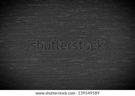 Background texture of black and white wood closeup with vignette - stock photo