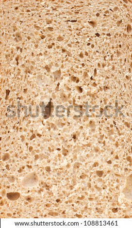 background texture of bread crumb - stock photo