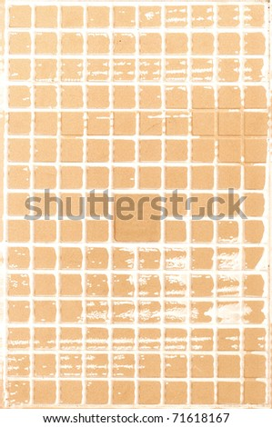 background texture of clay tiles