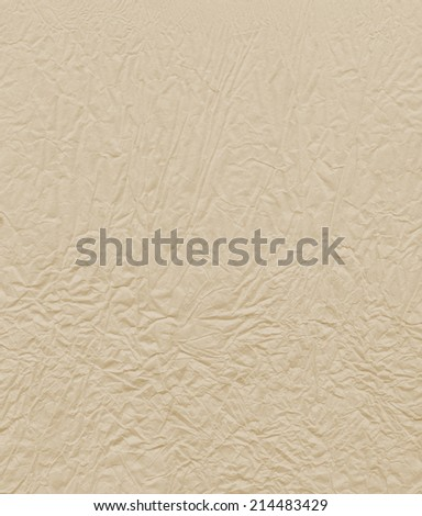 background texture of crumpled paper - stock photo