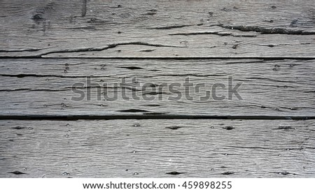Background texture of old wood texture with nails.